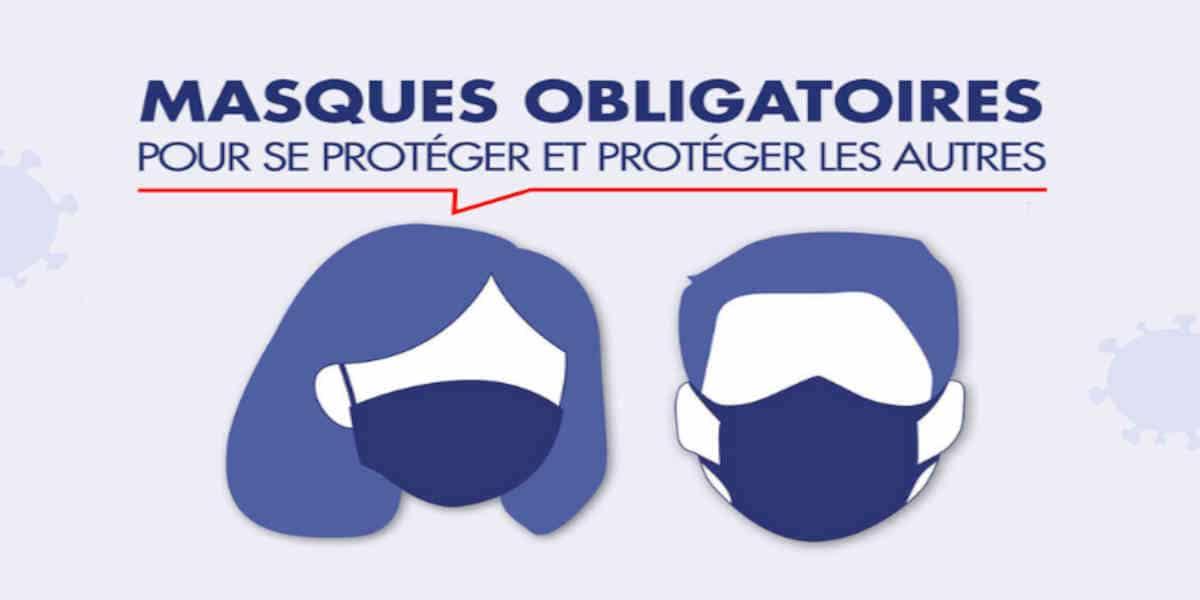 Masque obligatoire : la liste des 45 communes de Charente-Maritime